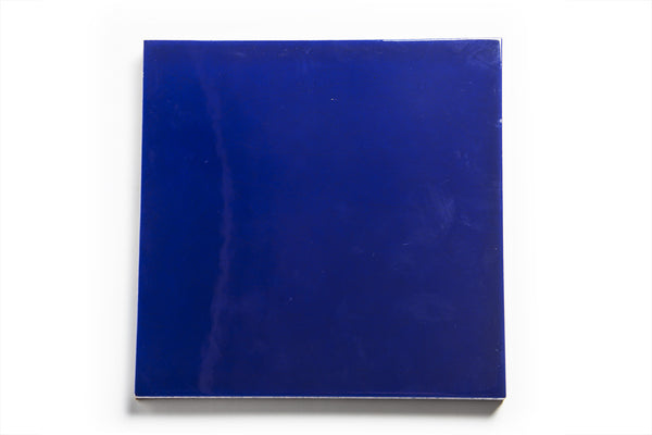 Large Dark Blue İznik Tile