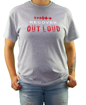 Recover Out Loud Tee