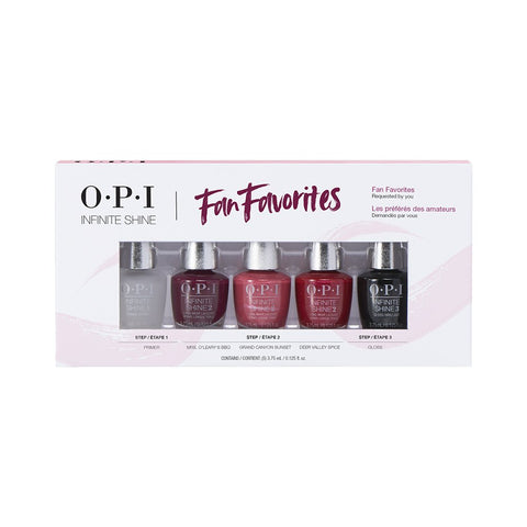 OPI -INFINITE SHINE -  Fan Favorites
