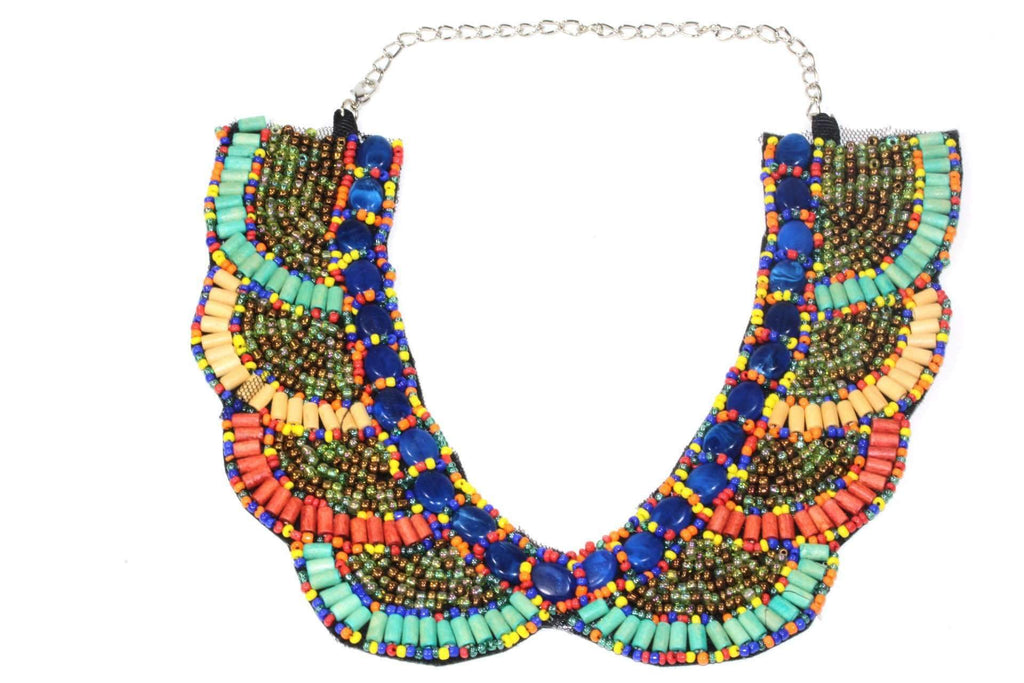 Santa Fe Style Bib Necklace - The Trendy Accessories Store