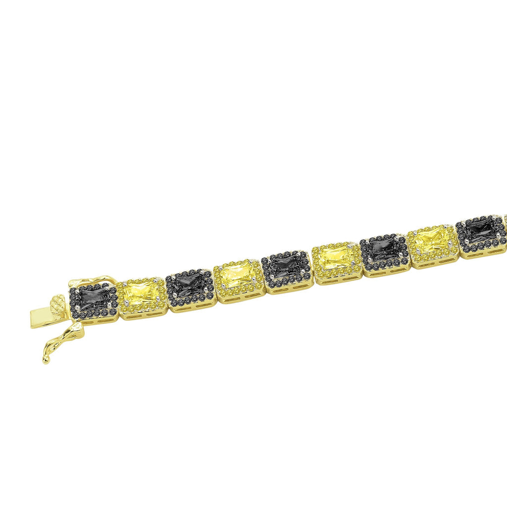FOXY 6MM SQUARE TENNIS BRACELET I 9622226 - The Trendy Accessories Store