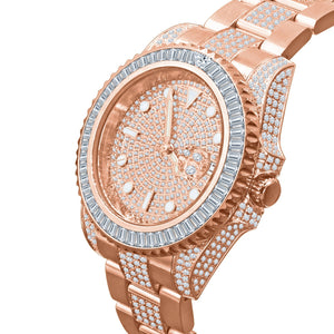 HURRICANE GOLD PLATED STAINLESS STEEL WATCH | 530385 - The Trendy Accessories Store