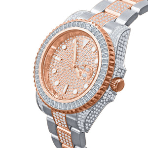 HURRICANE STAINLESS STEEL WATCH WITH ROSE GOLD PLATED | 5303818 - The Trendy Accessories Store