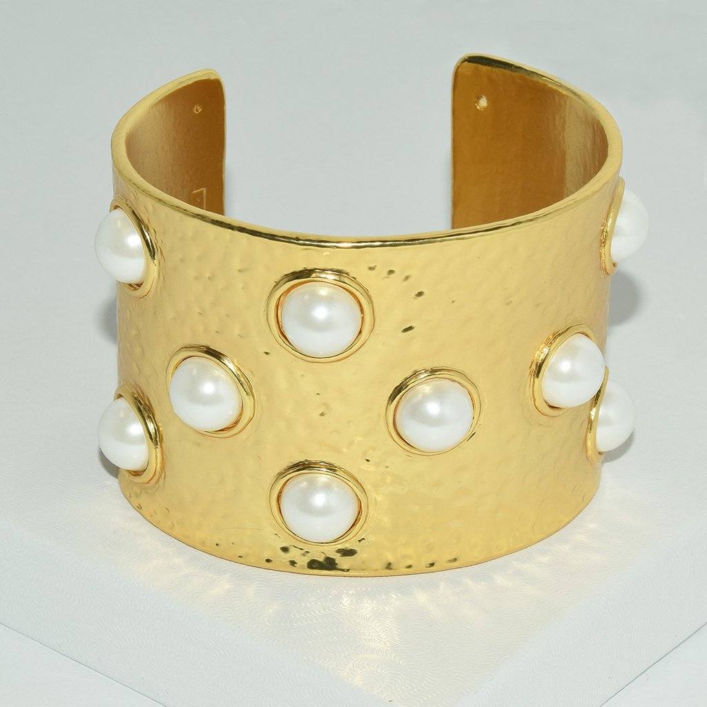 Pearl Cuff - The Trendy Accessories Store