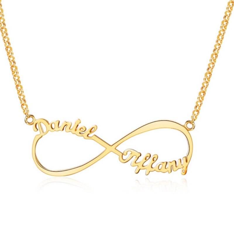 Customized Infinity Name Necklace Personalized - The Trendy Accessories Store
