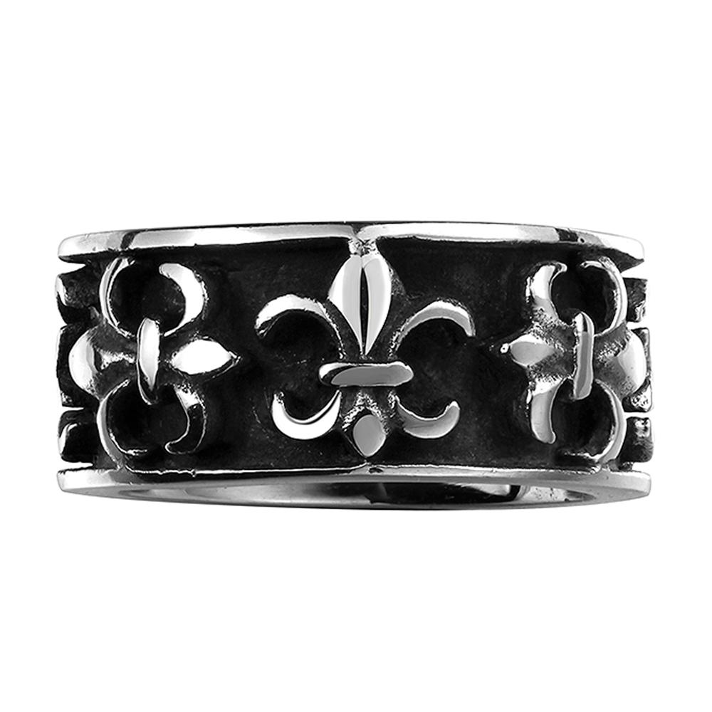 316L Stainless Steel Roman Emblem Ring - The Trendy Accessories Store