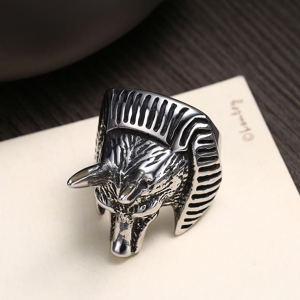 316L Stainless Steel Strong Toro Men's Ring - The Trendy Accessories Store