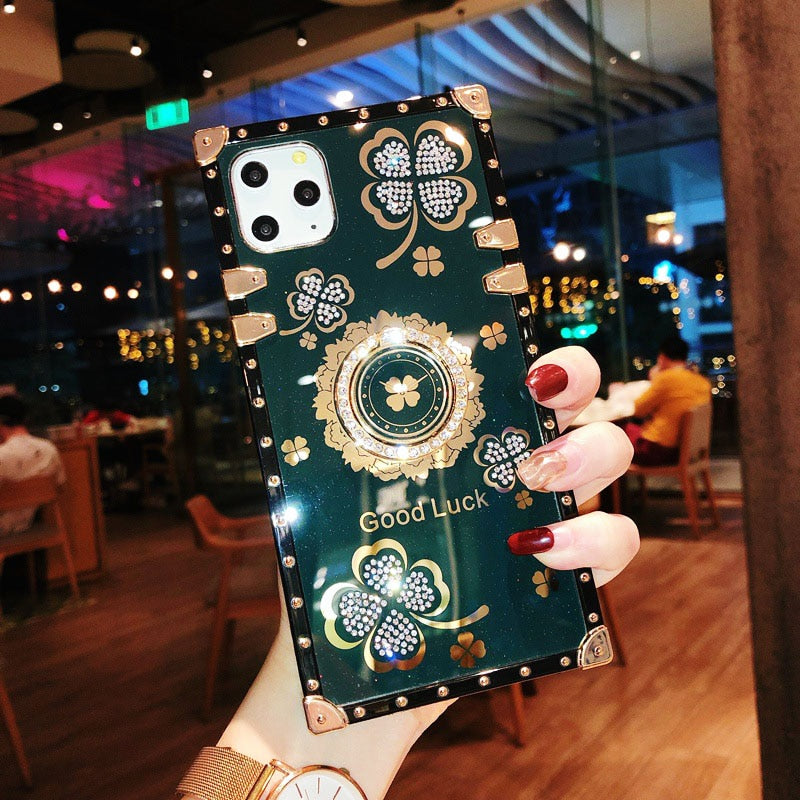 Lucky Flowers Soft iPhone Case - The Trendy Accessories Store