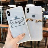 Antique Art inpired lines Painted Pattern iPhone Case - The Trendy Accessories Store