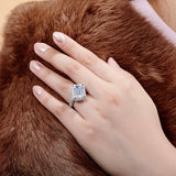 Classic and Unique Style Engagement Ring - The Trendy Accessories Store