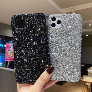 Glittle sparkly hard Cover Iphone Case - The Trendy Accessories Store