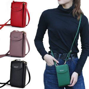 Luxury PU leather Phone Wallet and Handbags - The Trendy Accessories Store
