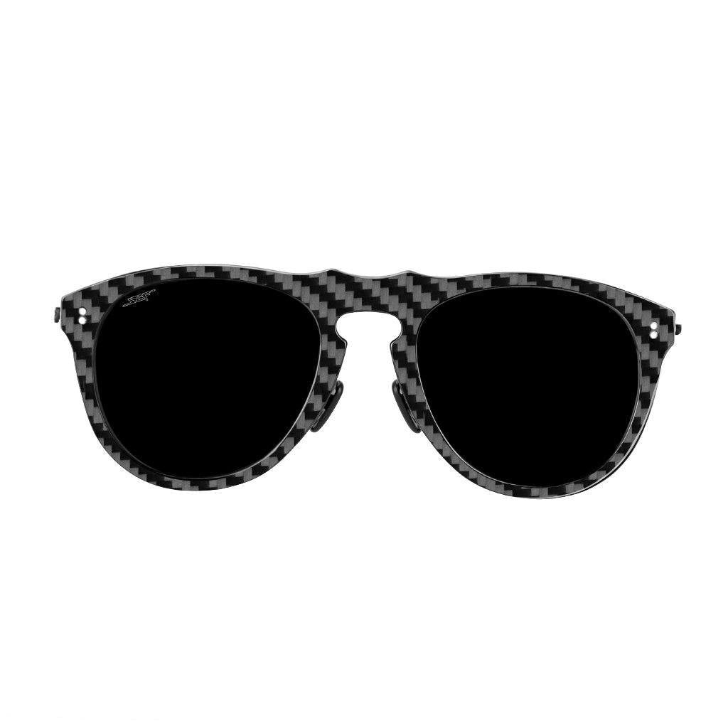 ●HAVANA● Real Carbon Fiber Sunglasses (Polarized Lens) - The Trendy Accessories Store