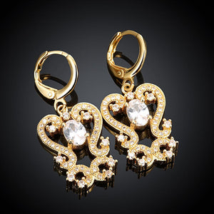 Marquise Drop Earring in 18K Gold Plated with Swarovski Crystals - The Trendy Accessories Store