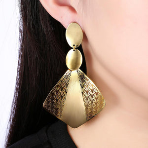 Benitachell Drop Earring in 18K Gold Plated - The Trendy Accessories Store