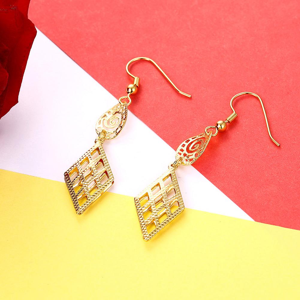 Pontevedra Drop Earring in 18K Gold Plated - The Trendy Accessories Store