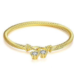 Serenity Premium Bracelet in 18K Gold Plated - The Trendy Accessories Store