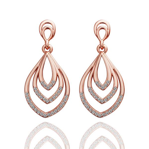 Natalie Drop Earring in 18K Gold Plated - The Trendy Accessories Store