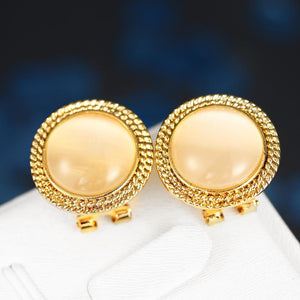 Resin Stud Earring in 18K Gold Plated - The Trendy Accessories Store