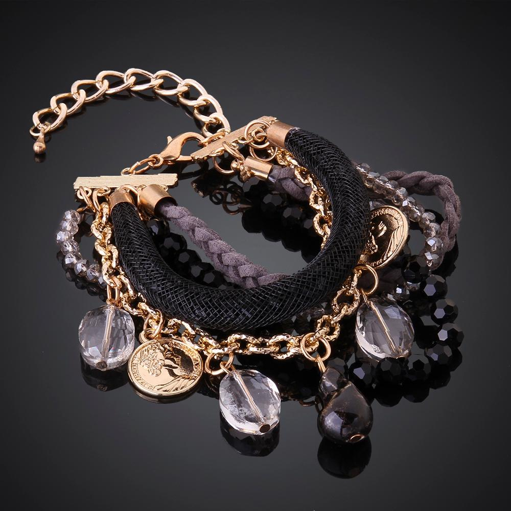 Flower 18K Gold Plated Bracelet - The Trendy Accessories Store