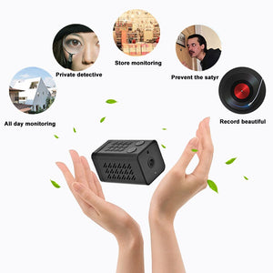 1080P 1MP Mini WiFi Camera with Audio and Video Recorder - The Trendy Accessories Store