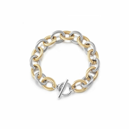 Twisted Wire Link Bracelet - The Trendy Accessories Store