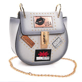 OH Fashion USA Nights Gray Handbag - The Trendy Accessories Store