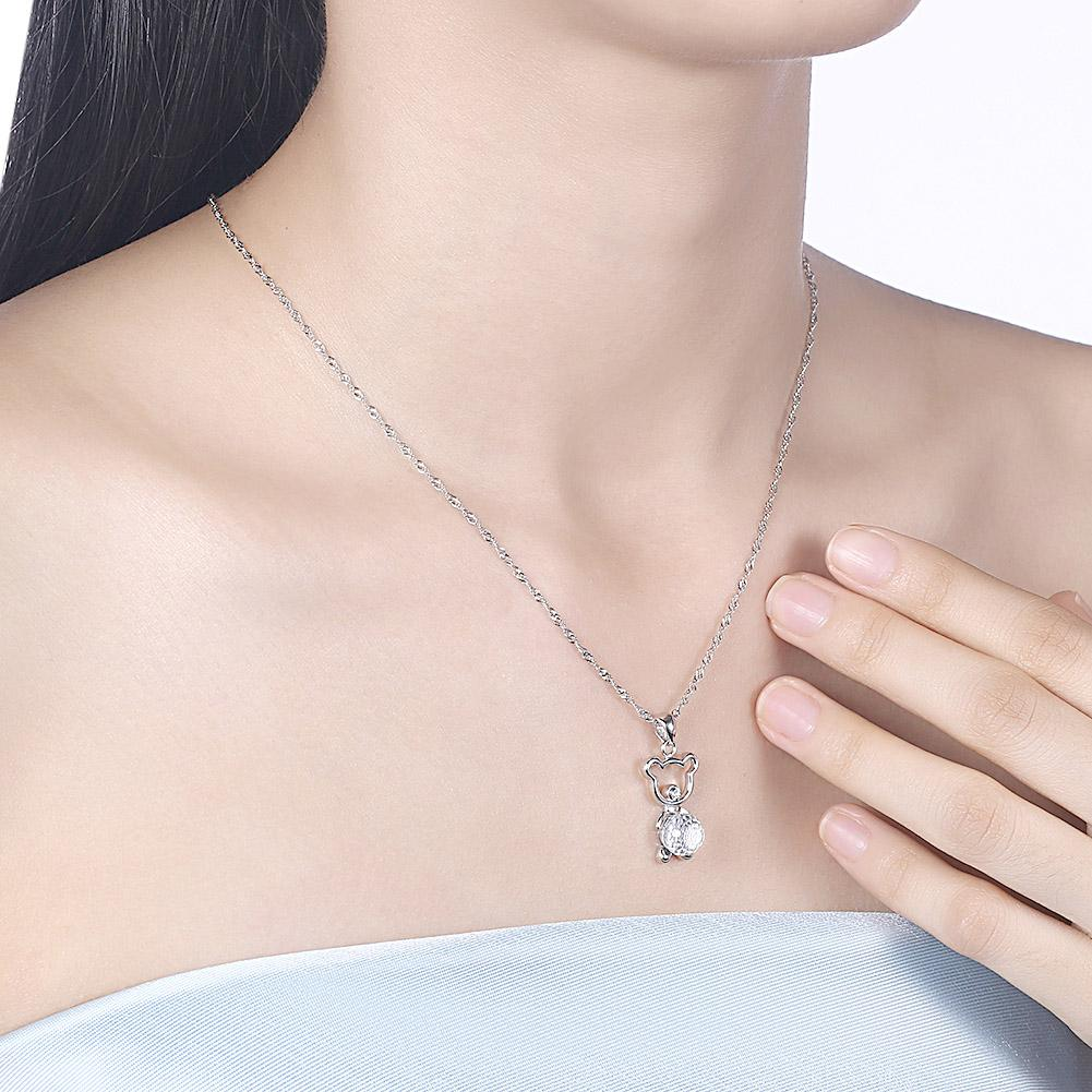 Simplified Sterling Silver Necklace - The Trendy Accessories Store