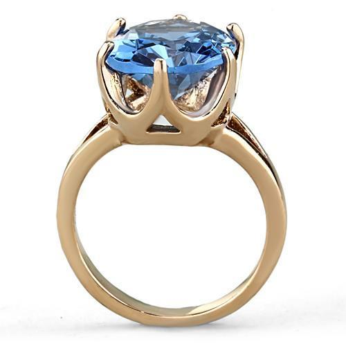 TK1484 IP Rose Gold Stainless Steel Ring - The Trendy Accessories Store