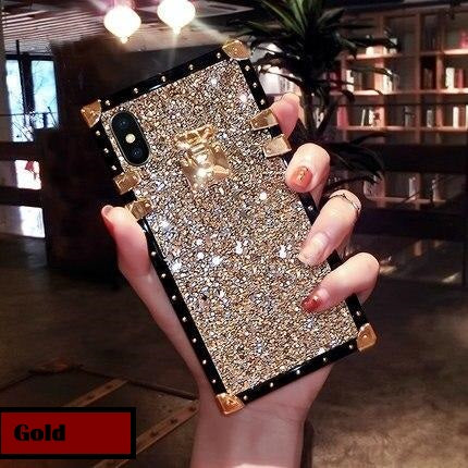 Elegant Gold Plated Soft Silicon iPhone Case - The Trendy Accessories Store