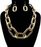 Large Gold Necklace Sets - The Trendy Accessories Store
