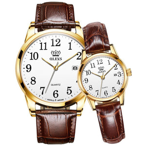 Fashion popular Casual Quartz Lover's Watches - The Trendy Accessories Store