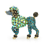 Load image into Gallery viewer, Rhinestone Dog Brooches
