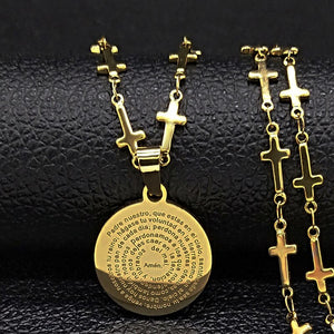 Bible Cross Necklaces