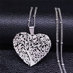 Load image into Gallery viewer, Heart Tree of Life Necklace