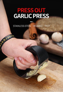 Creative Stainless Steel Garlic Press