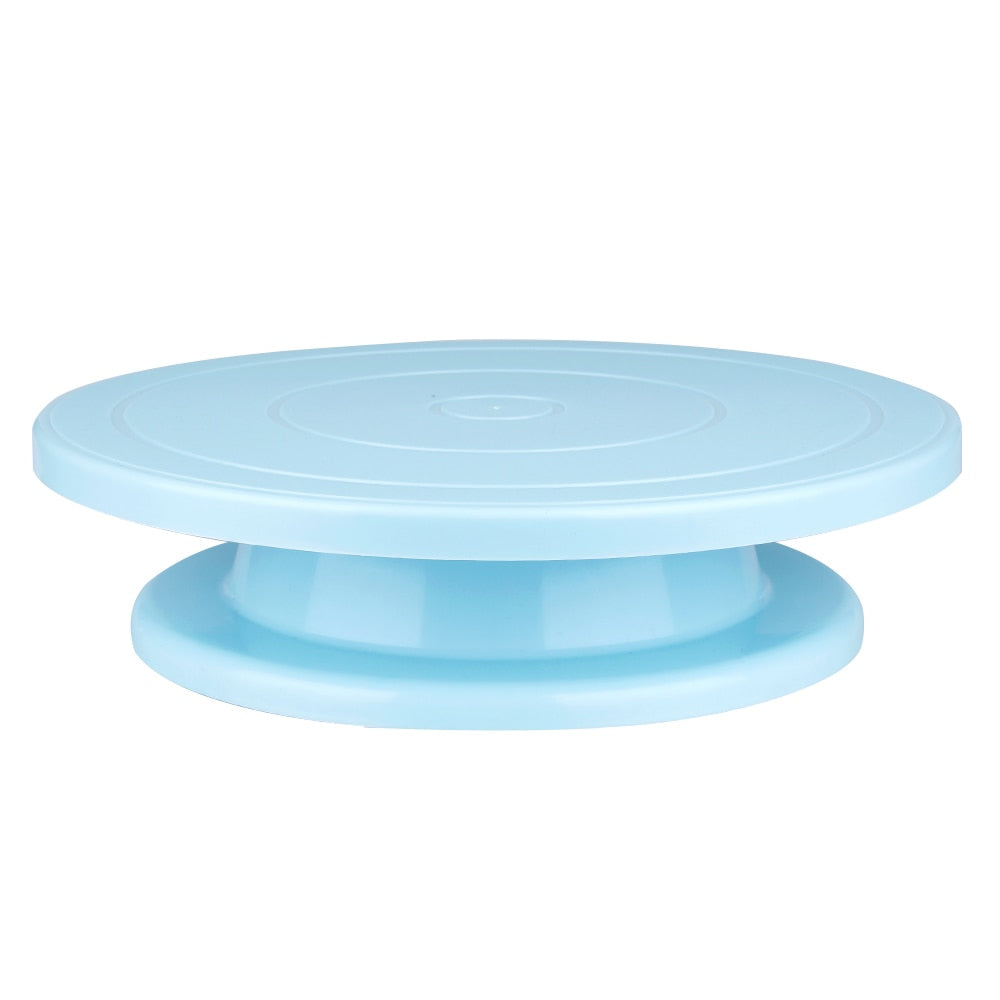 Rotating Round Cake Stand Table