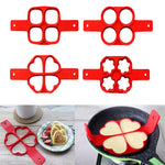 Load image into Gallery viewer, 1Pcs Silicone Non Stick Fantastic Egg Pancake Maker Ring Kitchen Baking Omelet Moulds Flip cooker Egg Ring Mold