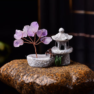 Lucky Amethyst Tree of Life