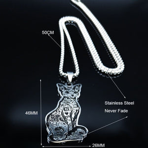 Sphynx Cat Necklace
