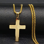 Load image into Gallery viewer, Jesus Cross Necklaces