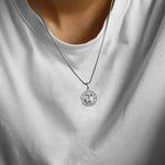 Load image into Gallery viewer, Silver Zodiac Sign Necklace