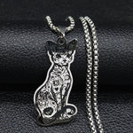Load image into Gallery viewer, Sphynx Cat Necklace
