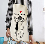 Load image into Gallery viewer, Kitty Aprons For Cat Lovers