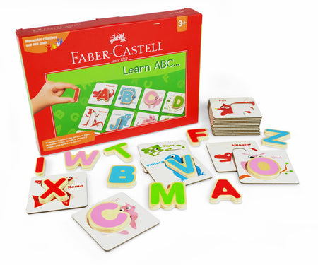 Set creativo Learn ABC