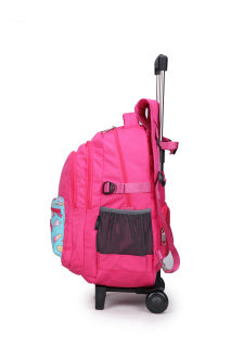 Mochila Fast School carro Rosa /IceCream