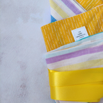 Ribbon Furoshiki - Pastel Stripes