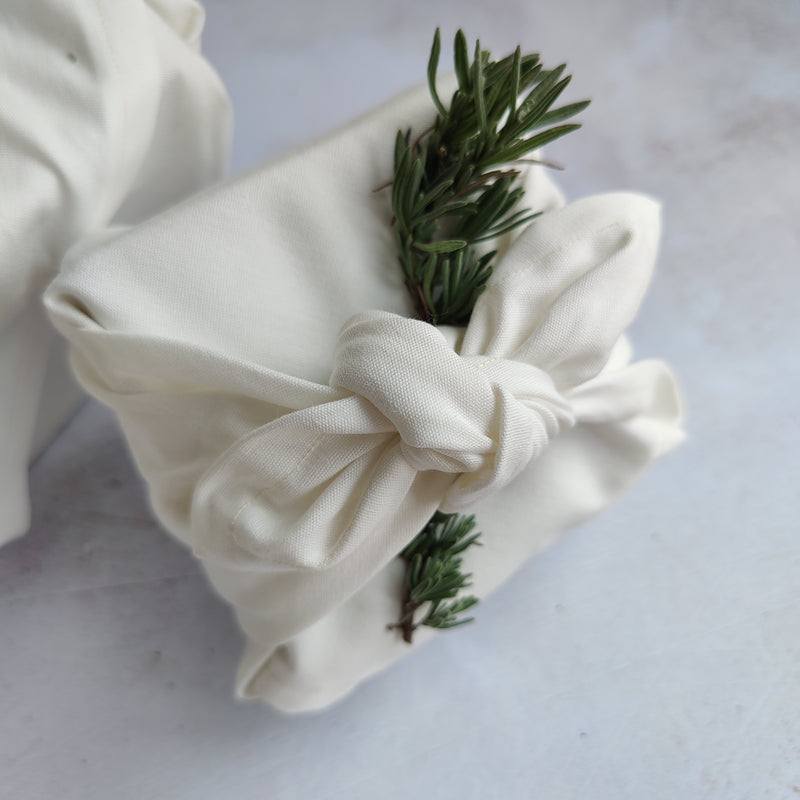 Furoshiki Fabric Gift Wrap - Natural