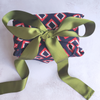 Fabric Gift Wrapping - Geometric Navy