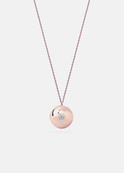 Boob Locket Necklace